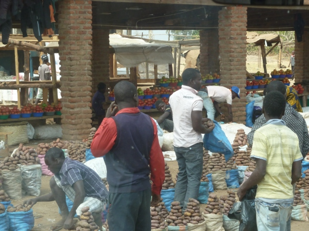 the local market